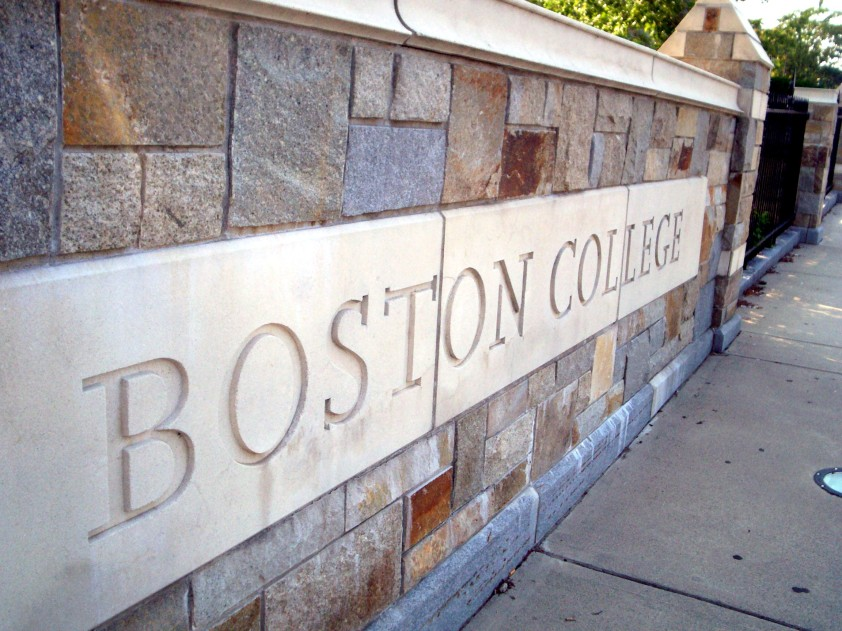 Boson_College_sign